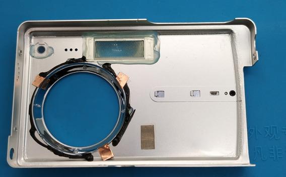 Carcaça Frontal Lente Câmera Digital Olympus Fe-160 Original