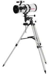 Telescópio Equatorial Newtonian 2100x Com Tripé