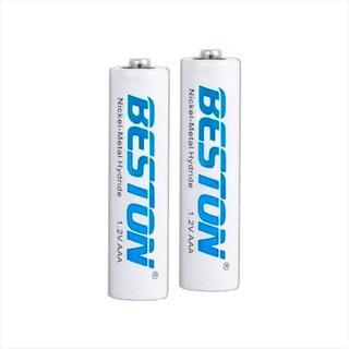 Pilas, Baterías Recargables Alta Capacidad Beston Aaax2 750m