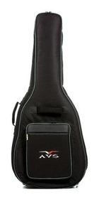 Bag Capa Para Violão Folk Nylon Super Luxo Avs Ch 200