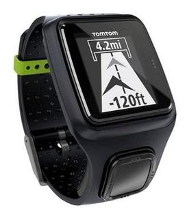 Reloj Tomtom Runner Gps Watch Negro Nuevo