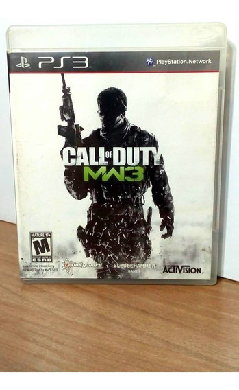 Call Of Duty Modern Warfare 3 Ps3 Usado