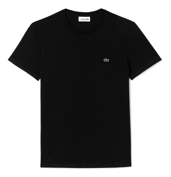 Remera Lacoste Regular Fit Basica Jersey Algodon