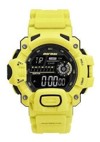 Relógio Amarelo Mormaii Mo1132aj/8v