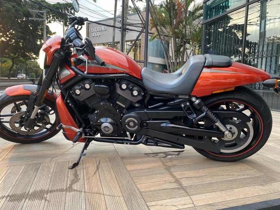 Harley-davidson V-rod Laranja 2012