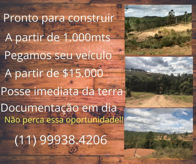 Terrenos Para Chácaras Na Cidade De Mairinque Gl 30.000mil