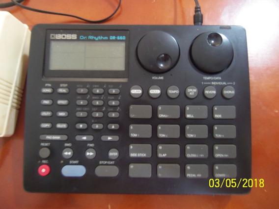 Caja De Ritmos Boss Dr-660 Rhythm