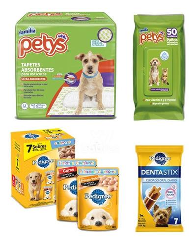 Combo Favorito De Tu Perro Cachorro: Snacks + Higiene