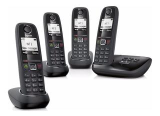 Telefono Inalambrico Gigaset As405a Contestador 4 Handys