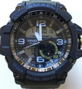 Relógio Smael Militar A Prova D`água S-shock Esportivo Top