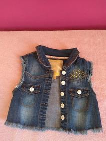 Colete Jeans Lilica Ripilica - Original - 6 Anos - Usado