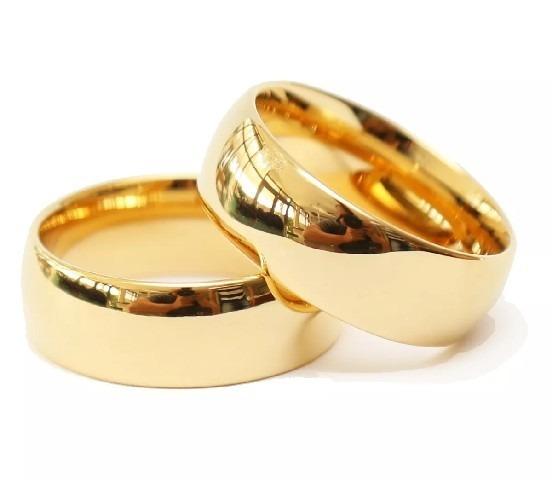 Alianças De 8mm Lisa De Tipo Classica Casamentos Em Oferta