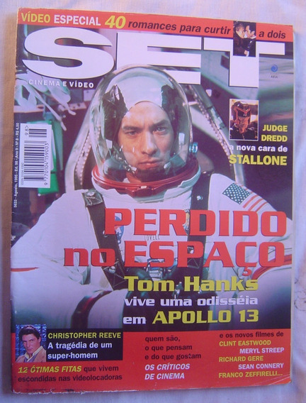 Revista Set - Ed. 98 - Perdido No Espaço - Apollo 13 - 1995