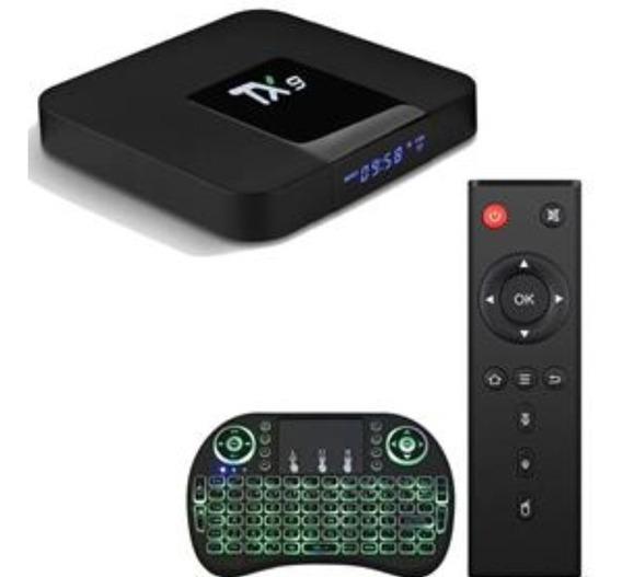 Conversor Smart Tv Tx9 C/ Bluetooth + Mini Teclado