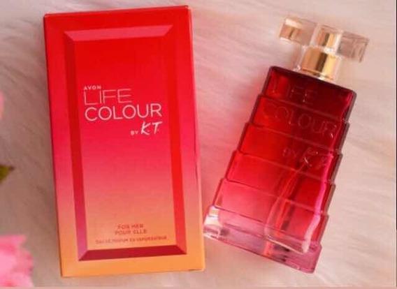 Eau De Parfum Life Colour By K.t. For Her 50ml
