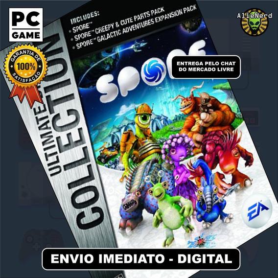 Spore Ultimate Collection - Em Português - Pc - Digital