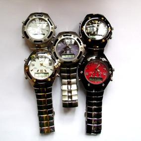 Relógio Masculino Potenzia Digital E Analogic,lote Com 8.