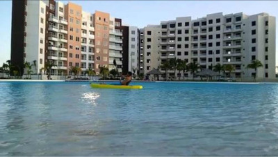 Espectacular Departamento En Cancun Con Laguna Privada 3 Rec