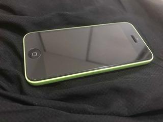 Vendo iPhone 5c, 8gb, Verde, Seminovo, Sem Marcas De Uso.