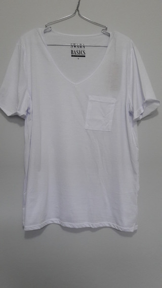 Camiseta Sustentável Básica Branca