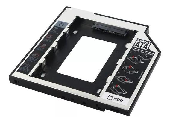 Case Caddy Adaptador Hd Ssd Sata Gaveta Dvd Notebook 9,5mm