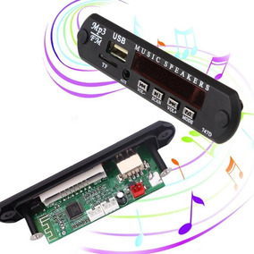 Placa P/ Amplificador Usb, Fm, Pen Drive, Bluetooth, Aux In.