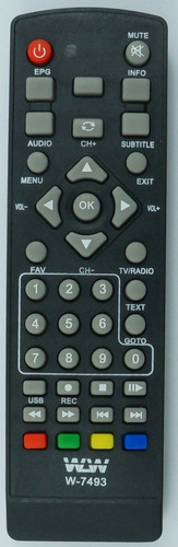 Controle Remoto Conversor Inova E Set Top Box 7493