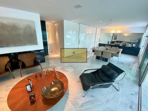 Apartamento Com 183m, 4 Quartos, Varanda Com Vista Panorâmica E Lazer Completo No Belvedere! - 6536