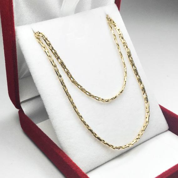 Cadenas Oro 18k Regalo Hombre- Mujer Paris 4.2 Grs -60 Cm