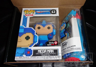 Funko 1997 Collector Box Gamestop Megaman 13/ Mipowerdestiny