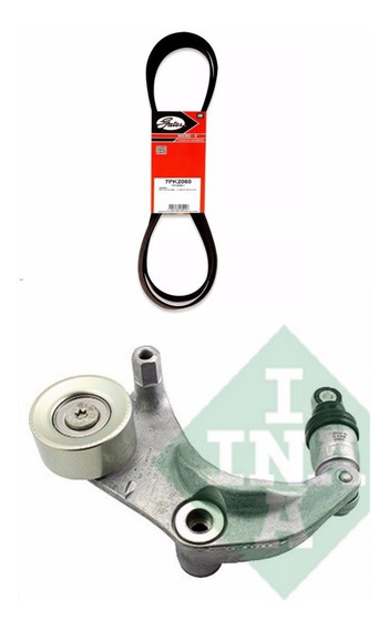 Kit Tensor Ina + Correia Do Alternador Gates Honda Cr-v 2007