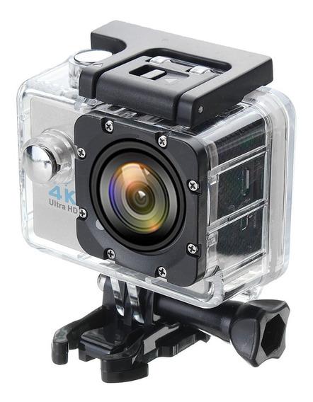 Action Cam Go Sports Pro Hd 1080p Wi-fi 4k + Promoção