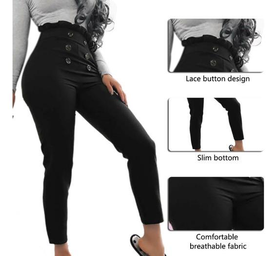 Pantalones De Vestir Mujer Pitillo Ropa Y Accesorios En