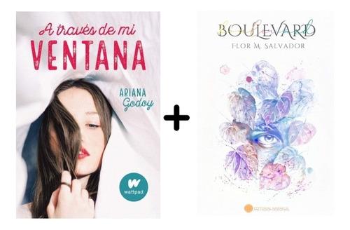 Combo 2 Libros: Atravez De Mi Ventana + Boulevard.