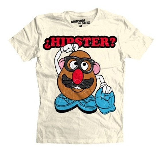 Playera ¿hipster? - Mascara De Latex
