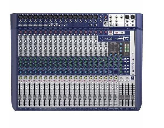 Mesa De Som Soundcraft Mod. Signature 22 (34085)