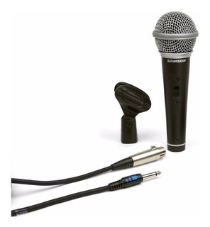 Samson R21 Premium Microfono Canto Con Cable Y Adaptador