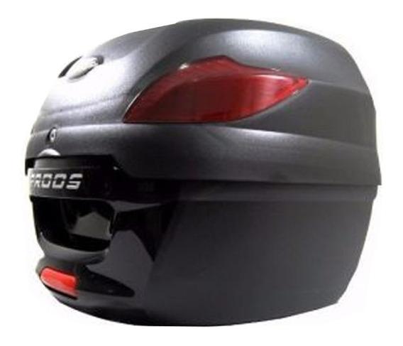 Bauleto Bau Proos 41 Litros Moto Preto Awa Universal Suporte