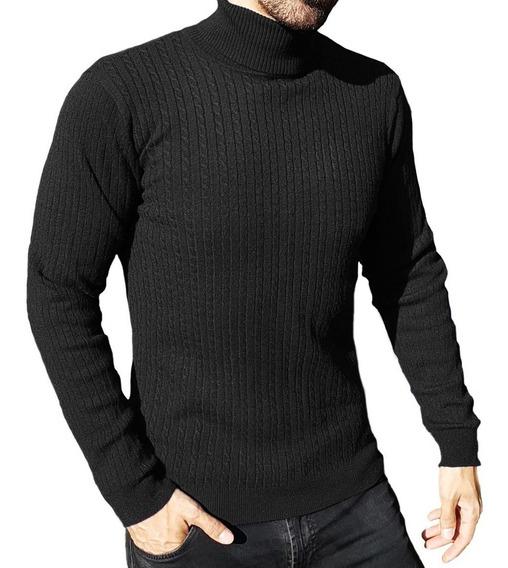 Beetle / Sweater / Chaleco / Cuello Tortuga Hombre Fashion