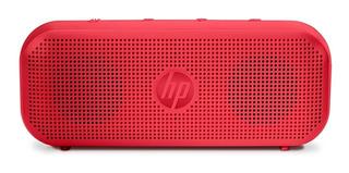 Bocina Hp 400 Bluetooth Roja Hasta 8 Hrs Bateria