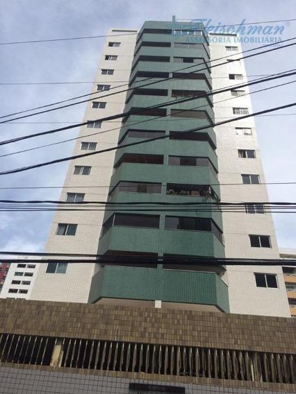 Apartamento Com 3 Dormitórios Para Alugar, 90 M² Por R$ 2.500,00/mês - Boa Viagem - Recife/pe - Ap1421