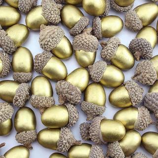 Fruta Artificial Auldhome Bellotas Paquete 60 Unidades Artif