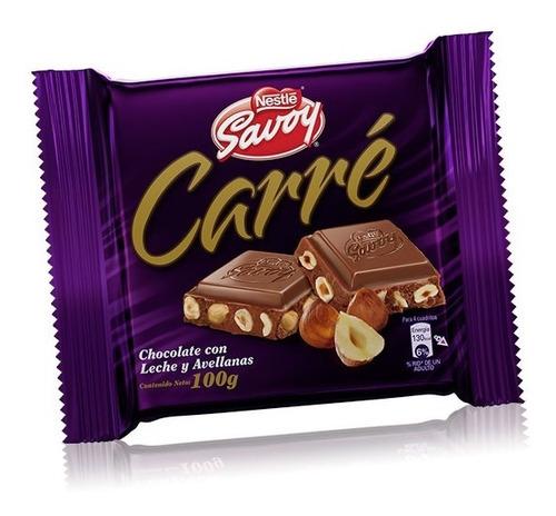 Chocolate Carre 100 Gr  Producto Venezolano
