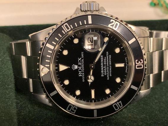 Rolex Submariner Date Original Aceito Troca!!!!