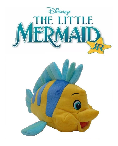 Pelúcia Disney Peixe Linguado A Pequena Sereia Long Jump