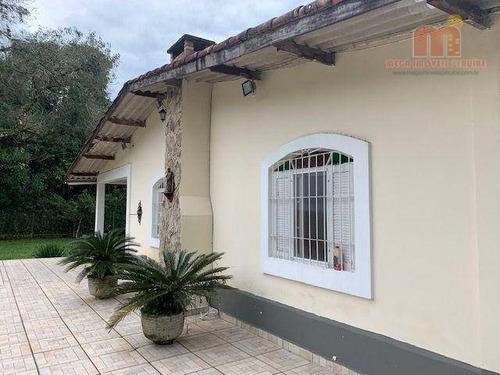 Imagem 1 de 30 de Chácara Com 3 Dormitórios À Venda, 4362 M² Por R$ 390.000,00 - Estãncia Rio Negro - Itanhaém/sp - Ch0177