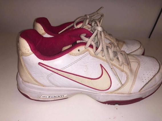 Zapatillas Nike Tenis Mujer Talle 40 Muy Poco Uso Liquido Ya