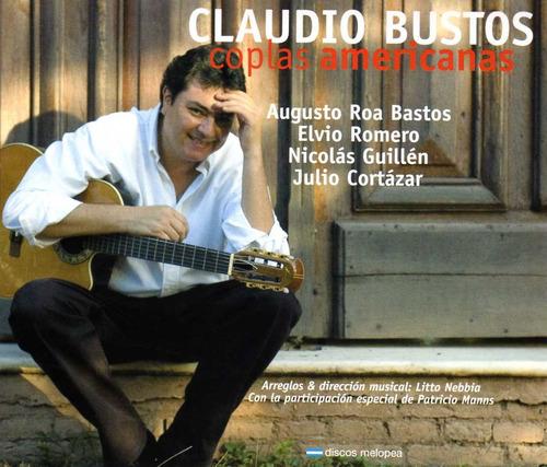 Claudio Bustos - Coplas Americanas - Cd