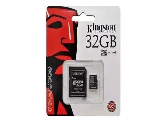 Cartão Memória Kingston Micro Sd 32gb Nota Fiscal Original