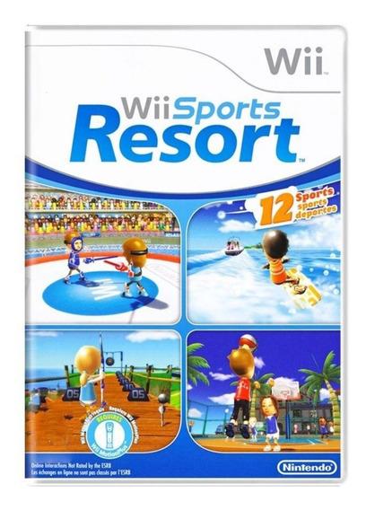 Wii Sports Resort Wii | Mídia Física Sem Caixinha